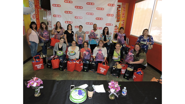 Army wives get free makeovers at H-E-B