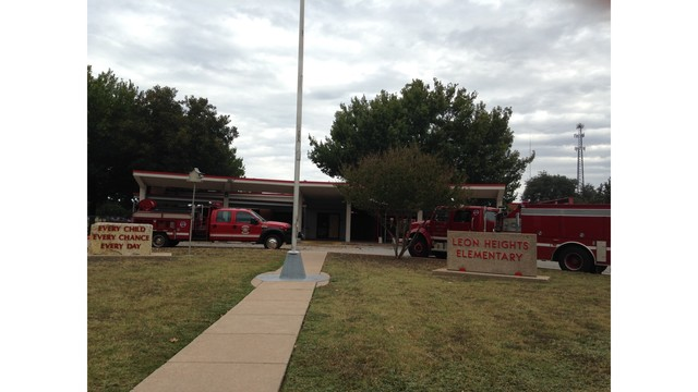 Small Fire At Leon Heights Elementary Classes Shifted Story