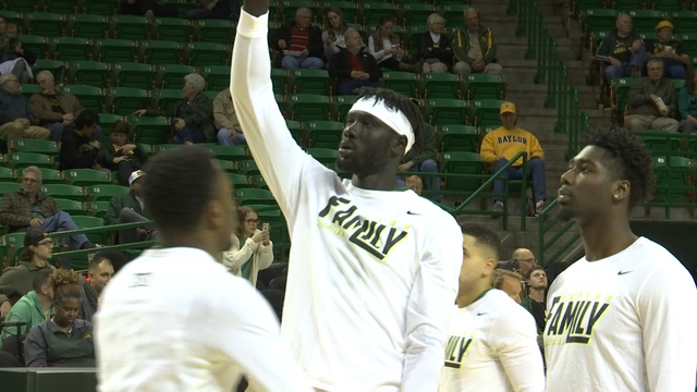 Baylor Basketball Rolls In 1st Round of NIT