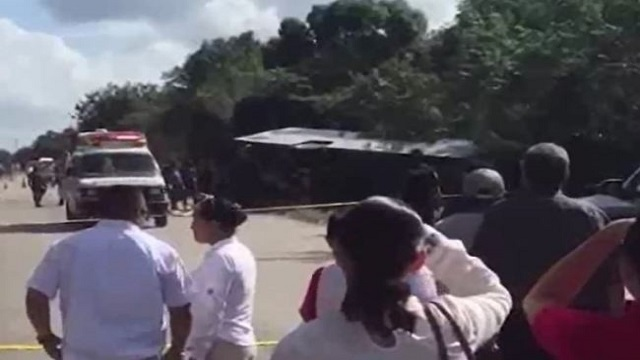 Americans among injured in Mexico bus crash