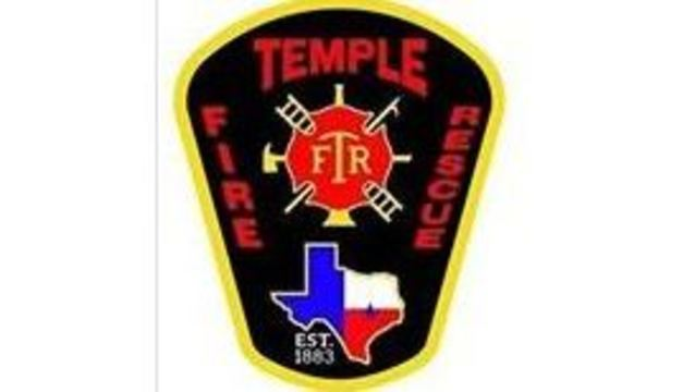 Grill fire in Temple injures 1