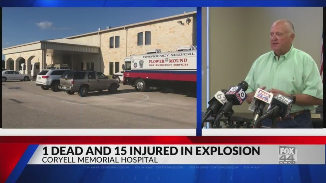 UPDATE: Coryell Memorial Hospital press conference