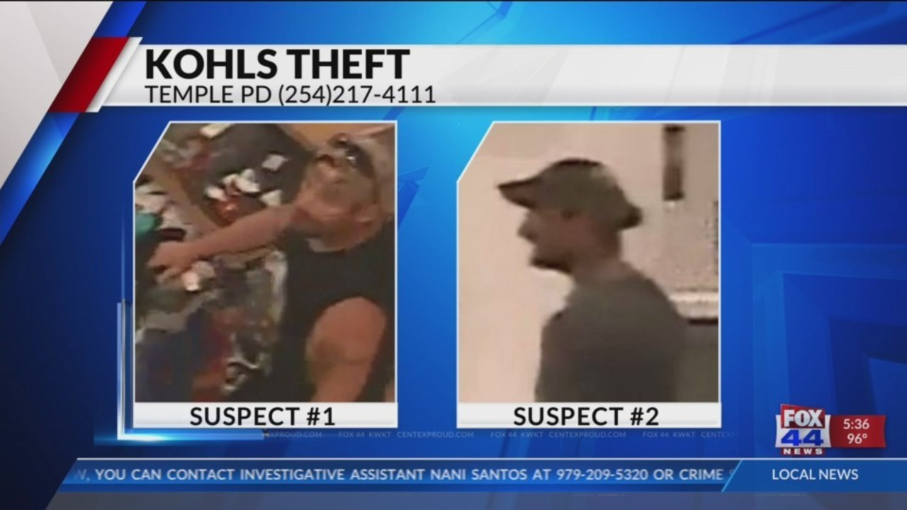 412bdef6543 Temple PD searching for Kohl s shoplifters