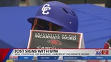 Cove's Jost Signs With Incarnate Word
