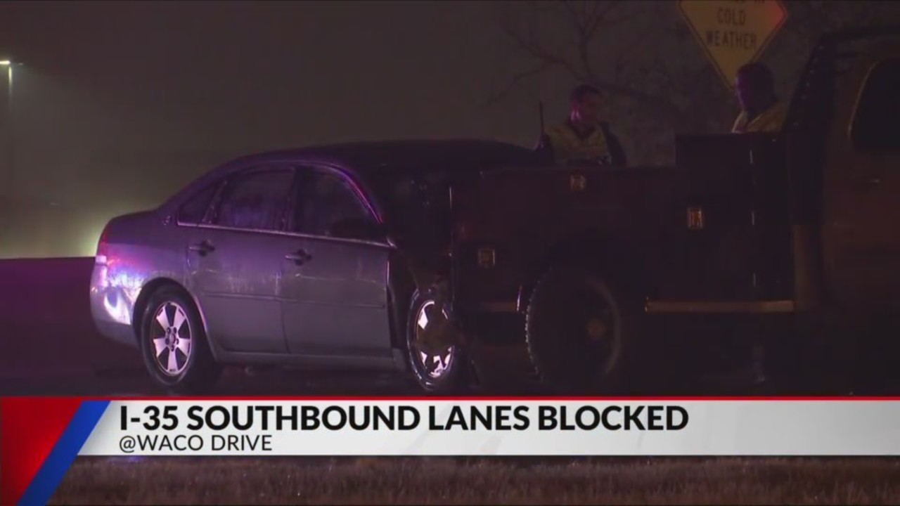 Multiple vehicles involved in major I-35 accident