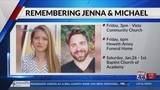 Funeral plans announced for Jenna & Michael