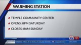 Killeen Community Center to open as warming station