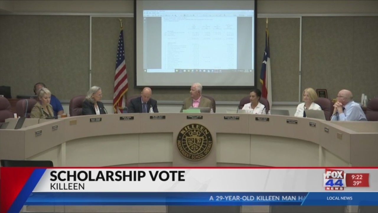 UPDATE: Killeen ISD school board approves $71,000 in