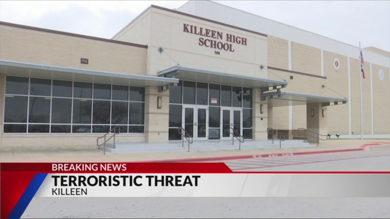 Killeen ISD Police charge student with felony for terroristic threat