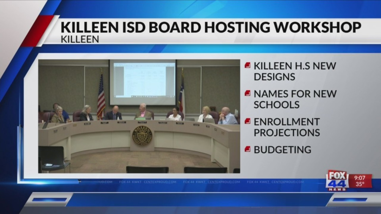 New attendance zones approved for Killeen ISD campuses