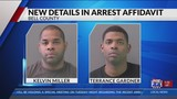 New details on Bell County corrections officers revealed in arrest affidavit