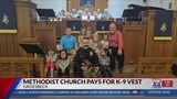 Groesbeck church group pays for K-9 vest