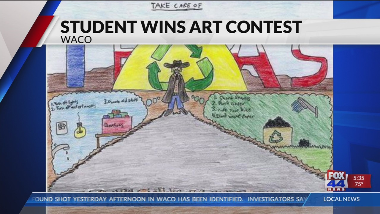 Midway ISD student wins in art contest