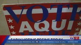 Early Voting locations in Central Texas