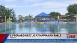 Hawaiian Falls lifeguard saves girl's life