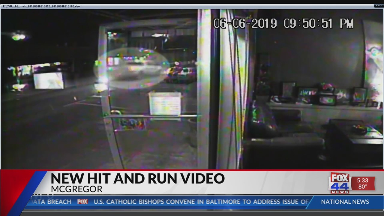 UPDATE: New video released in McGregor fatal hit-and-run