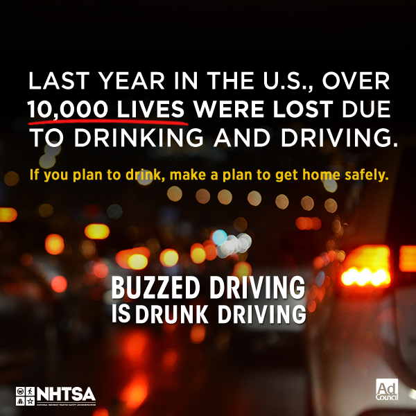 If you plan to drink, make a plan to get home safely.